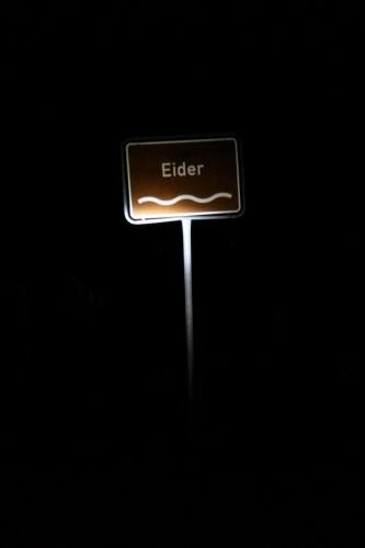 Querung der Eider bei Friedrichstadt