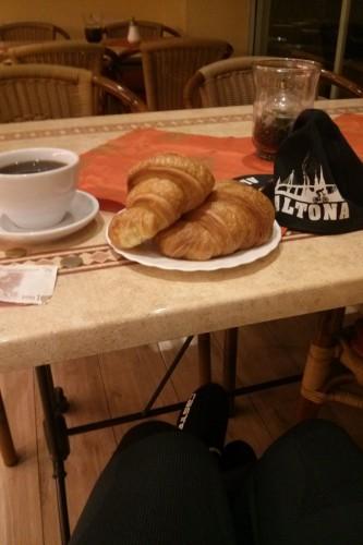 Frühstück in Husum