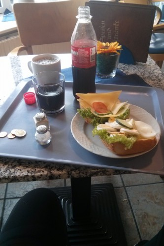 2. Frühstück in Leck